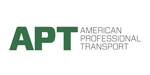 American professional transport logo
