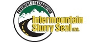 Intermountain slurry seal