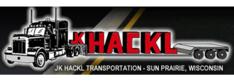 Jk hackl transportation logo