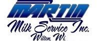 Martin bulk milk service
