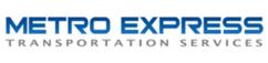 Metro express transportation services logo