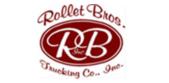 Rollet bros trucking logo