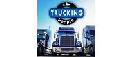Trucking people logo